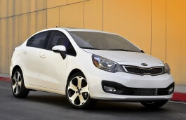Kia Rio wheels and tires specs icon