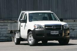 Mazda BT-50 Mk.1-I Chassis cab