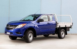 Mazda BT-50 Mk.2 Chassis cab