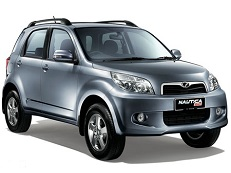 Perodua Nautica J2 Closed Off-Road Vehicle