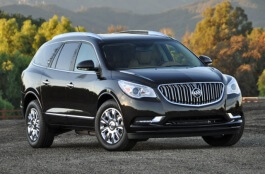 Buick Enclave I Restyling Closed Off-Road Vehicle