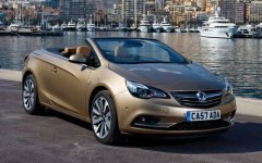 Vauxhall Cascada wheels and tires specs icon