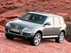 Volkswagen Touareg 7L Closed Off-Road Vehicle