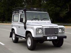 Land Rover Defender Closed Off-Road Vehicle