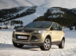 Ford Kuga II Closed Off-Road Vehicle