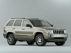 Jeep Grand Cherokee WK Closed Off-Road Vehicle