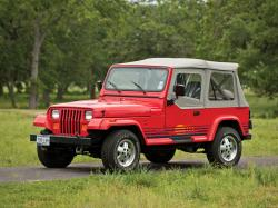 Jeep Wrangler YJ Open Off-Road Vehicle