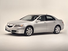 Acura RL wheels and tires specs icon