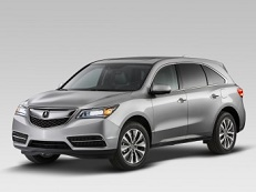 Acura MDX YD3 Closed Off-Road Vehicle