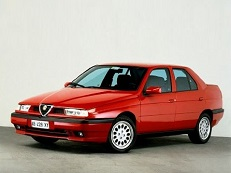 Alfa Romeo 155 wheels and tires specs icon