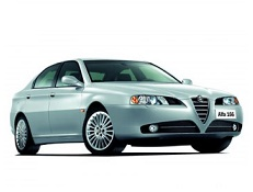Alfa Romeo 166 wheels and tires specs icon