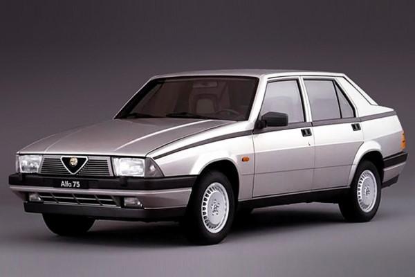 icono de especificaciones de Alfa Romeo 75  ruedas y neumáticos