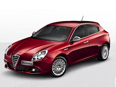 Alfa Romeo Giulietta wheels and tires specs icon