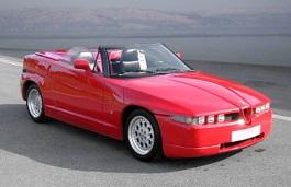 ícone de especificações de roda e pneus de Alfa Romeo RZ