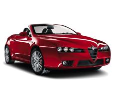 Alfa Romeo Spider Räder- und Reifenspezifikationensymbol