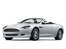 Aston Martin DBS Räder- und Reifenspezifikationensymbol