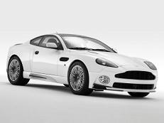 ícone de especificações de roda e pneus de Aston Martin V12 Vanquish