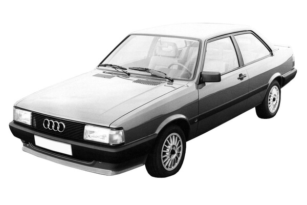Audi 4000 B2 Facelift Coupe