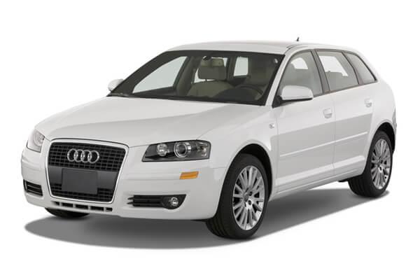 icono de especificaciones de Audi A3  ruedas y neumáticos