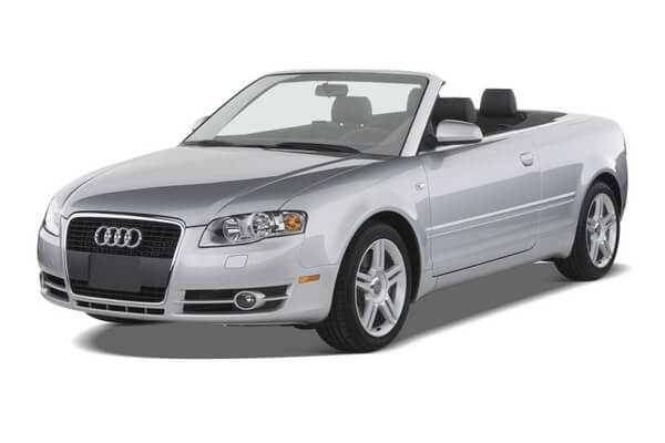 Audi A4 Räder- und Reifenspezifikationensymbol