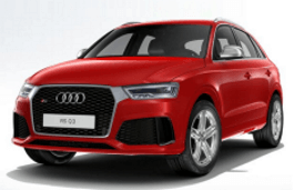 Audi RS Q3 wheels and tires specs icon