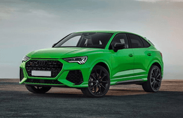Audi RS Q3 Sportback wheels and tires specs icon