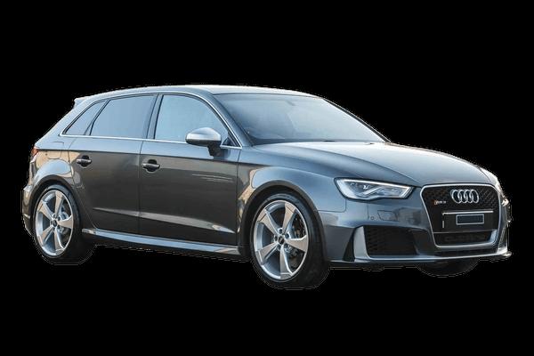 Audi RS3 Räder- und Reifenspezifikationensymbol
