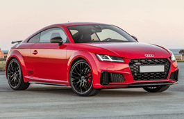 Audi TT S wheels and tires specs icon