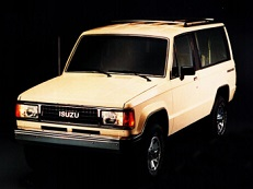 Isuzu Trooper I Closed Off-Road Vehicle
