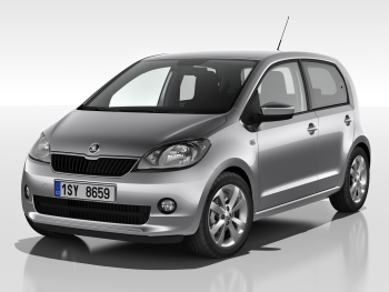 Skoda Citigo wheels and tires specs icon
