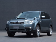 Subaru Forester SH Closed Off-Road Vehicle