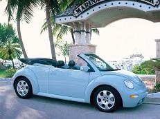 Volkswagen New Beetle A4 (1Y7) Convertible