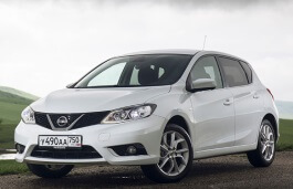 Nissan Tiida wheels and tires specs icon