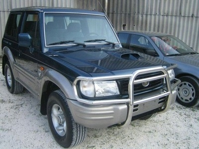 Hyundai Galloper Jk-01 Closed Off-Road Vehicle