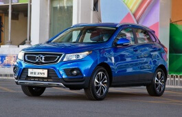 BAIC Senova X55 Closed Off-Road Vehicle