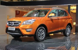 BAIC Senova X65 Closed Off-Road Vehicle