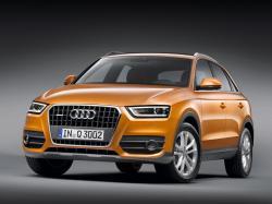 Audi Q3  Closed Off-Road Vehicle