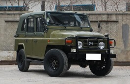 Beiqi BJ212 Closed Off-Road Vehicle
