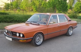 BMW 5 Series I (E12) (E12) Saloon