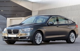 BMW 5 Series Gran Turismo wheels and tires specs icon