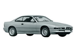 BMW 8 Series E31 (E31) Coupe