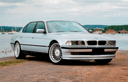 BMW Alpina B12 wheels and tires specs icon