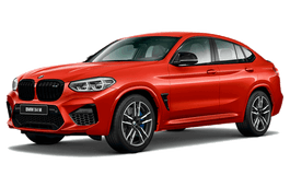 roues et icone de spécifications de pneus pour BMW X4 M