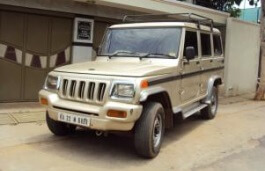 Mahindra Bolero I Closed Off-Road Vehicle