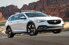 Buick Regal TourX wheels and tires specs icon
