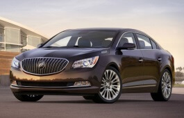 Buick LaCrosse wheels and tires specs icon