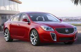 Buick Regal GS I Facelift Седан