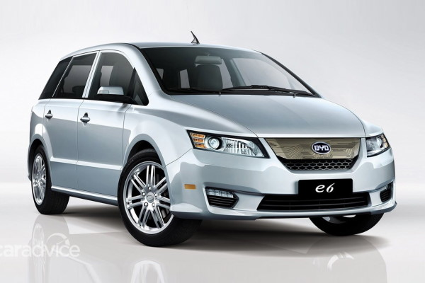 BYD e6 wheels and tires specs icon