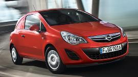 Opel Corsa Van wheels and tires specs icon