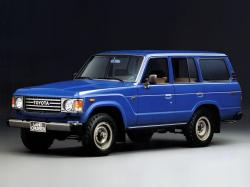 Toyota Land Cruiser 60 Series Closed Off-Road Vehicle